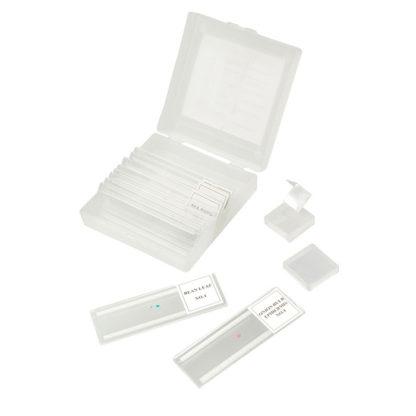 Микропрепараты 5 образцов + 5 предм. стёкол (пластик)