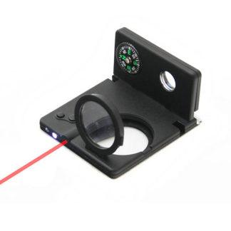 Набор IT005 (8в1,лупа,компас,2 авторуч.,светодиод.фонарик,лаз.ук)