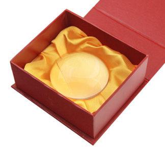 Лупа 6912 (диам.60мм, 4х, в подарочной красной коробке)