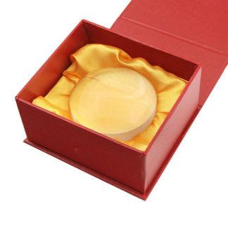 Лупа 6913 (диам.75 мм, 4х, в подарочной красной коробке)