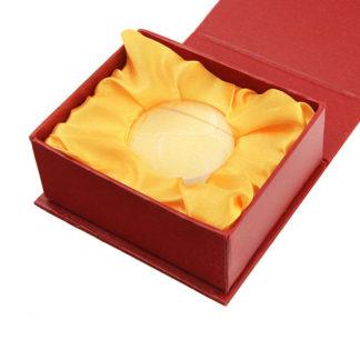 Лупа 6911 (диам.50мм, 4х, в подарочной красной коробке)