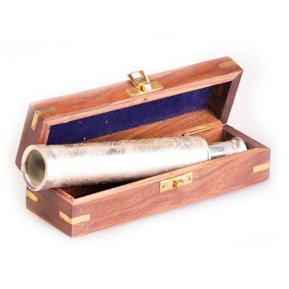 ЗТ сувенирная 10 с гравировкой в дер. коробке